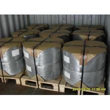 Alambre de hierro electrogalvanizado / Alambre de hierro galvanizado en caliente