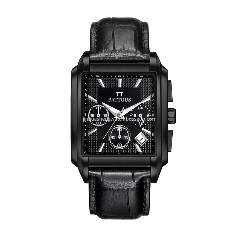 Black Stainless Steel Watch