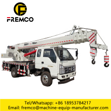 Small Truck Crane 8 Ton For Sale