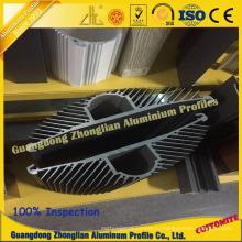 Алюминиевый профиль для теплоотвода алюминиевого профиля подсолнечника профиля