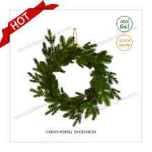 22′′ Seasonal Plastic Green Commercial Christmas Wreath