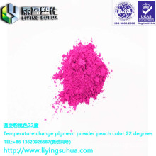 Invertible color pigments, colorless, temperature-changing, colored, single-color toner