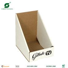 Caixa de exibição de forma de triângulo