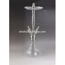 4 manguera shisha de la cachimba de acero inoxidable
