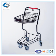 Supermarket Hand Push Basket Trolley Carts