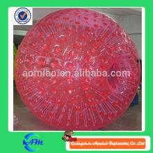 Bola de hámster humano gigante inflable zorb globo inflable rodante zorb bola