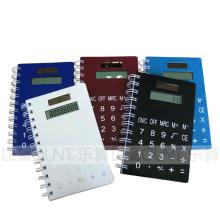 Notebook com calculadora com grande sala para logotipo (LC808A)