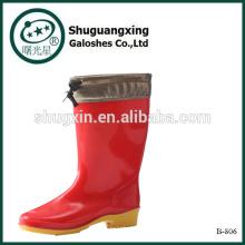 Knee High Rain Boots|Boots for Rain|Cheap Mens Rubber Rain Boots B-806
