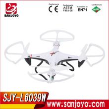 ¡El más nuevo juguete de LISHI caliente para la venta! 2.4G 4ch WIFI FPV teledirigido con la cámara avión de la transmisión en tiempo real SJY-L6039W