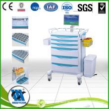 Luxus multifunktionale Behandlung Anästhesie Cart Save
