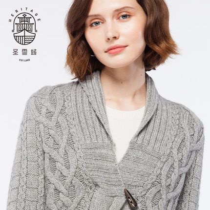 Kaschmir-Shrug-Art-Strickjacke der Frauen