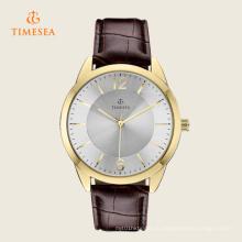 Мужские аналоговые коричневый Кожаный ремешок часы 72270