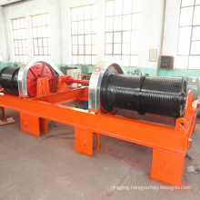 60 ton gate hoist winch for hydropower station