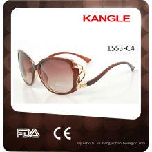 2017 nuevos productos gafas de sol plásticas del marco de neón promocional barato