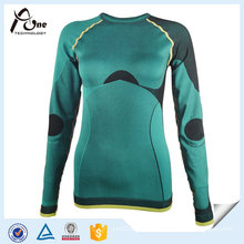 Long Sleeve Seamless Heated Underwear for Lady