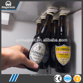 Bottle Loft, Magnetic Bottle Hangers/Holder For Beer and Beverages, Bottleloft magnetic bottle storage fridge strips