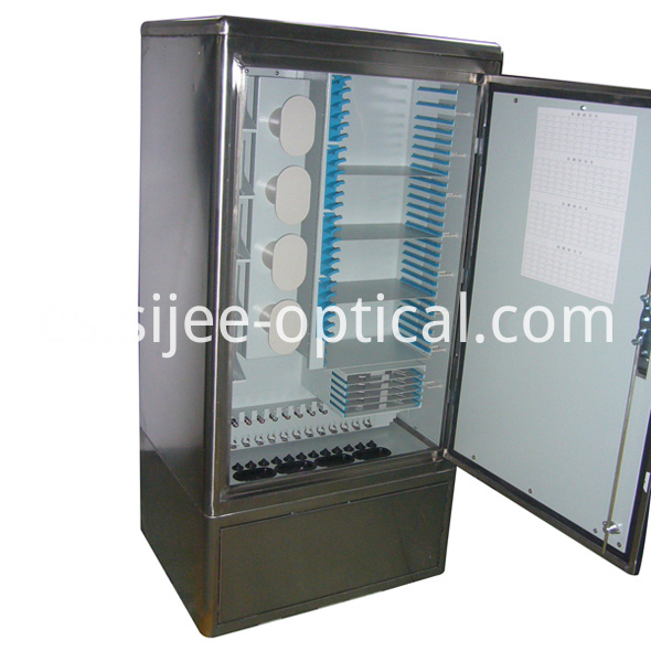Fiber Optic Linking Cabinet