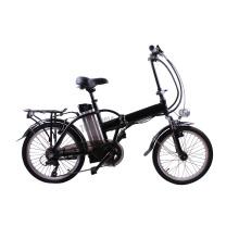 CE pase bicicleta eléctrica 20 pulgadas mini inteligente plegable bicicleta eléctrica plegable