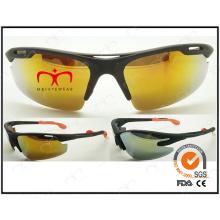 Especial borboleta em forma de plástico design esportes óculos de sol (lx9872)