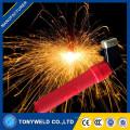 Nouveau design support de l'électrode en cuivre / laiton support de l'électrode du câble de soudage 150 / 500amp