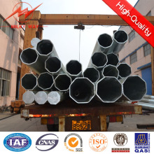 Multi Side 15kn Electric Lighting Poles with Cross Arm