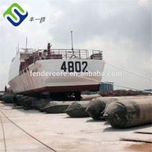 marine ship boat rubber launching airbag export to Batam