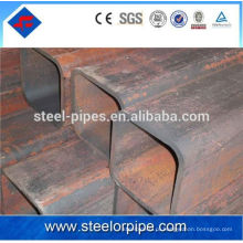 100 * 100 стальных труб квадратных пустотелых секций строительных материалов