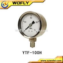 Indicateur de pression d'huile à contact électrique de haute précision 100mm