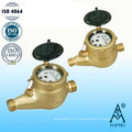Medidor de água Multi jato seco tipo Vane roda