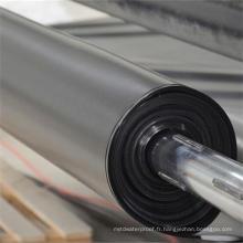 Géomembrane de HDPE noir / doublure de barrage / géomembrane Fabricant / matériaux de construction