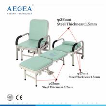 Компания AG-AC001 популярности по цене сопутствующего оборудования для больниц металлические сопровождают стул