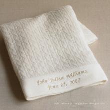 Cobertor de bebê cashmere pura 15JWS0720