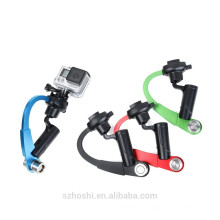 Accessories mini straight handheld stabilizer Video Camera Steadicam Stabilizer for GoPro Hero 4/3/ 3+/6/5