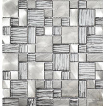 Mosaico al por mayor del vidrio cristalino del espejo del color para el cuarto de baño