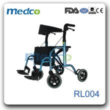 Light weight elderly walker rollator RL004