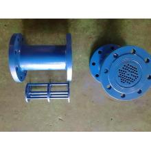 Углеродистая сталь клапан с epxoy покрытие для счетчик воды Фланцевый выпрямитель