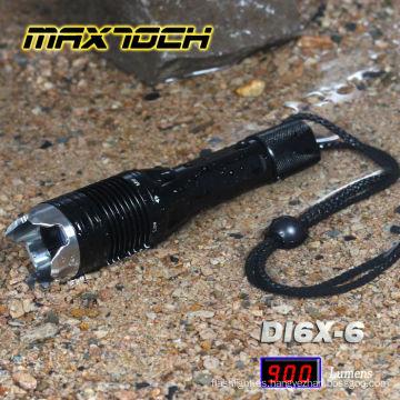 Maxtoch DI6X-6 18650 T6 aluminio Waterpoof ataque cabeza linterna militar