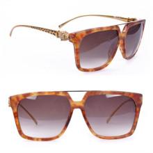 Gafas de sol de la marca de fábrica de Famouse, gafas de sol de las mujeres de la manera Panthere (CT1303)