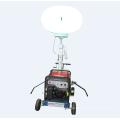 Luz de torre de generador diesel portátil de globo