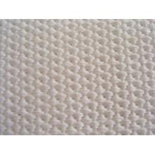 Tela tejida con correas de aire