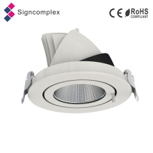 Downlight réglable réglable de 100lm / W 20 W, Downlights d'ÉPI LED d'Epistar / Citizen 20 watts