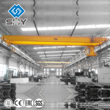 Overhead Travelling Electric 4 Wheel Crane Small Duty With Wireless Crane Remote Control