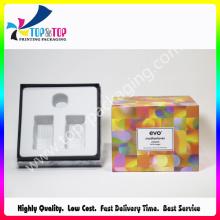 Caixa de perfume de embalagem de papel com forro