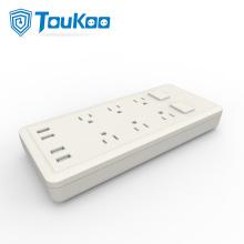 US 6 toma de corriente de salida con toma USB