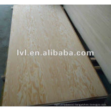 Pine face and back furniture plywood panel