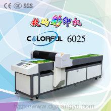 Black Skin Fur Leather Printing Machine (Colorful 6025)