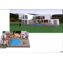Container House / Modular Villa (CH-36)