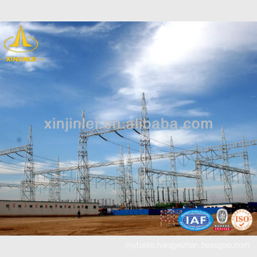 Transmission Line Steel Framed Structures