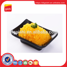 High quality seasoned frozen sushi canned flying fish roe tobiko
