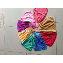 Petite serviette en polie de corail, serviette de toison de corail design charmante, serviettes à main suspendues